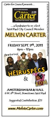 Fundraiser for Melvin Carter